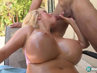 big tits big ass blonde