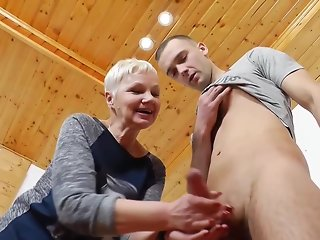 mature blonde teacher